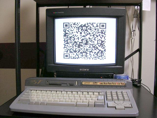 MSXでQRコード